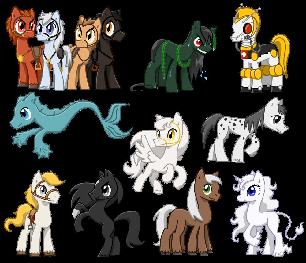 My famous Ponies