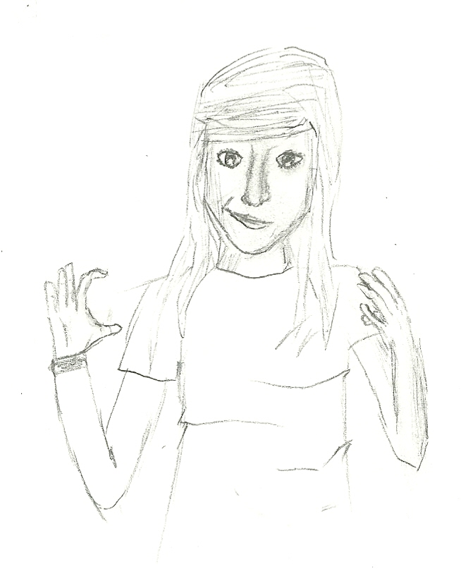 My first drawn person
