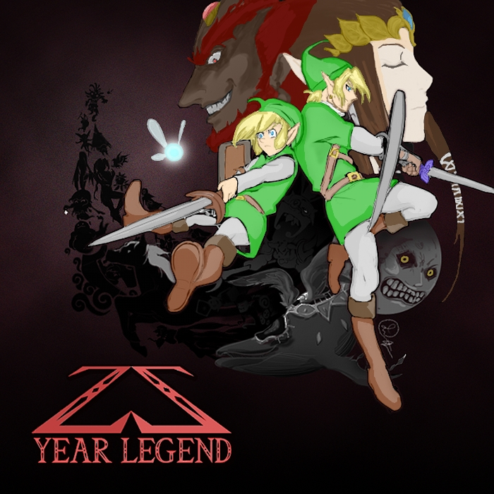 25 Year Legend Cover (colored)