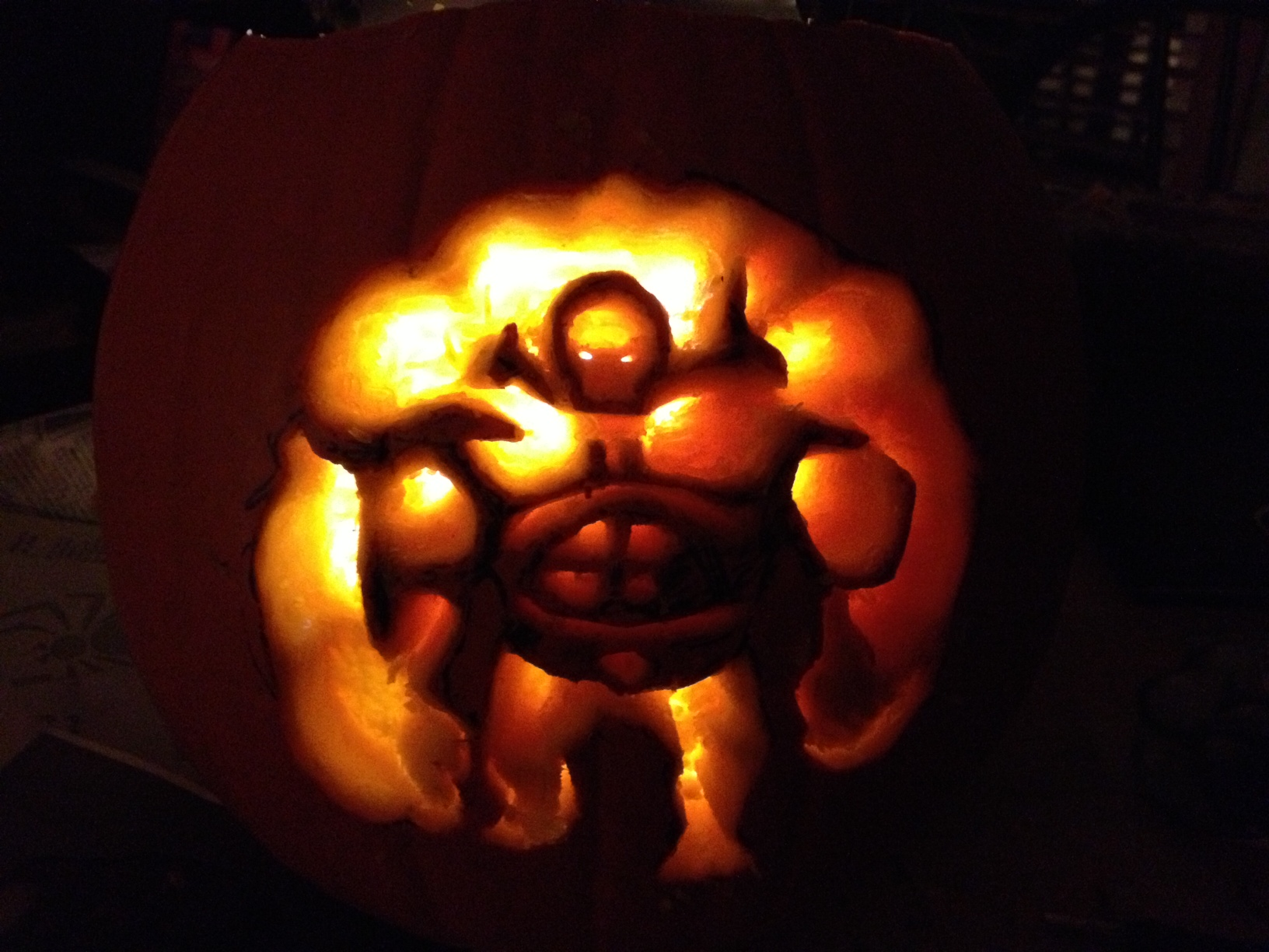 Dad: 2012 Pumpkin