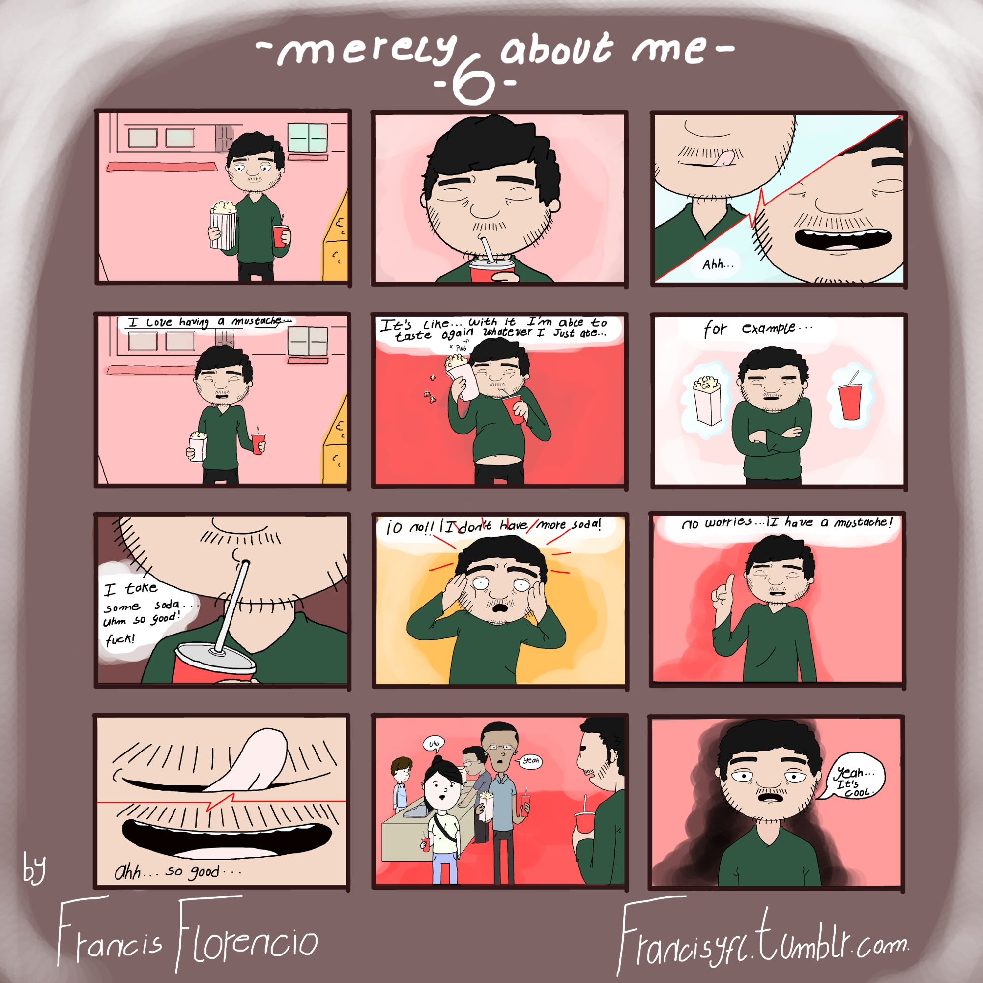 [Comic] Merely about me 6
