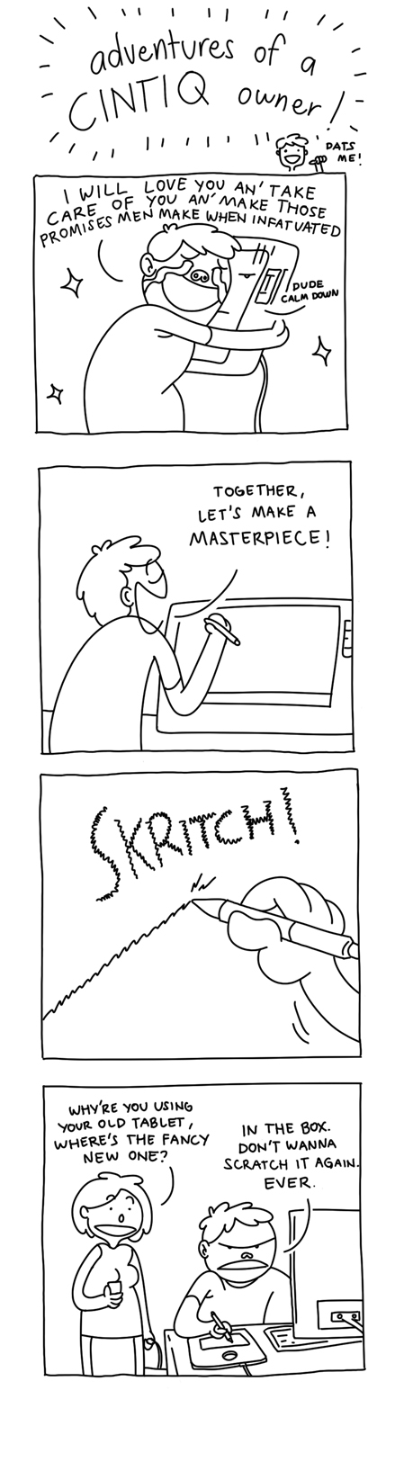 Adventures of a cintiq owner
