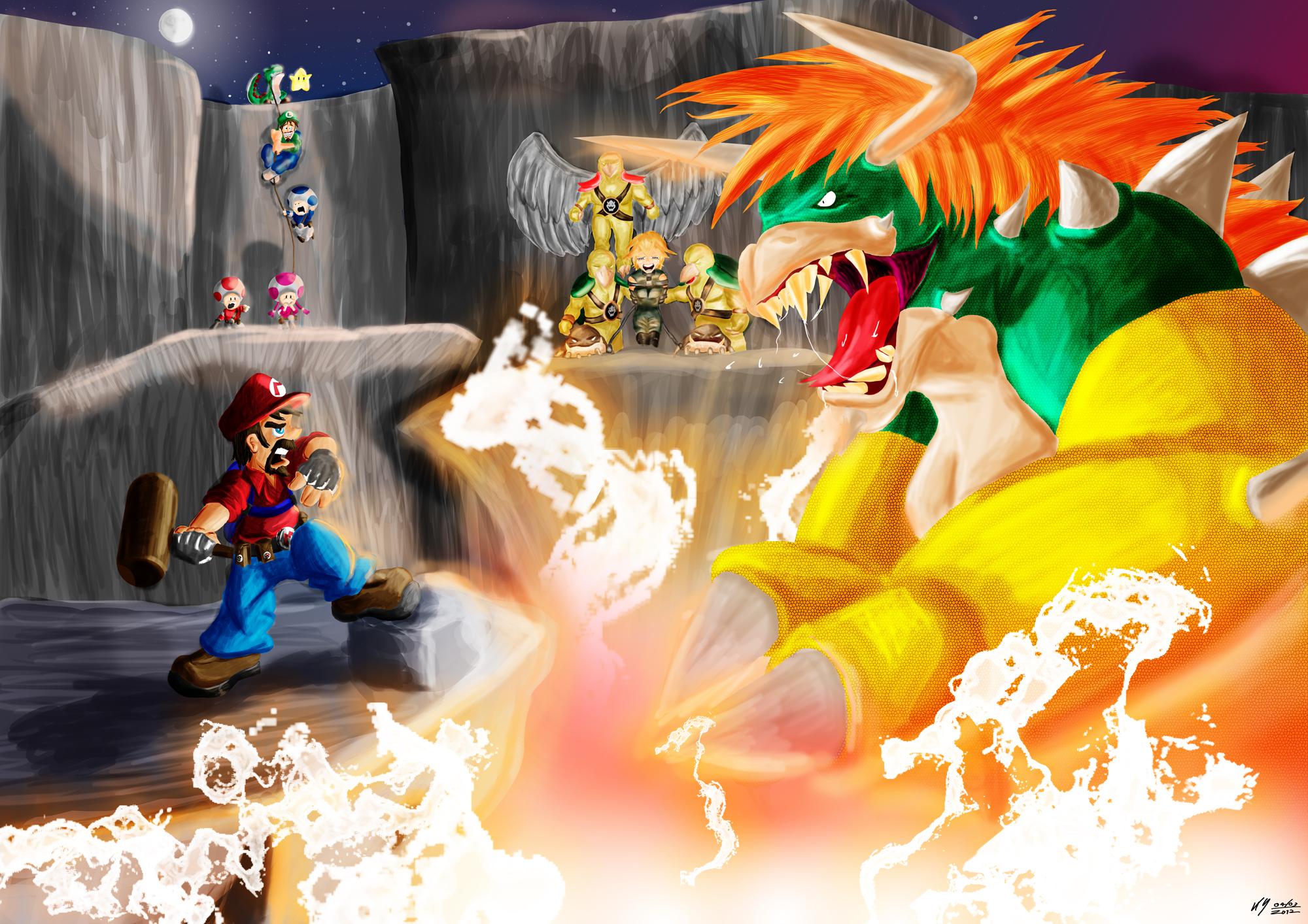 Epic Mario Battles