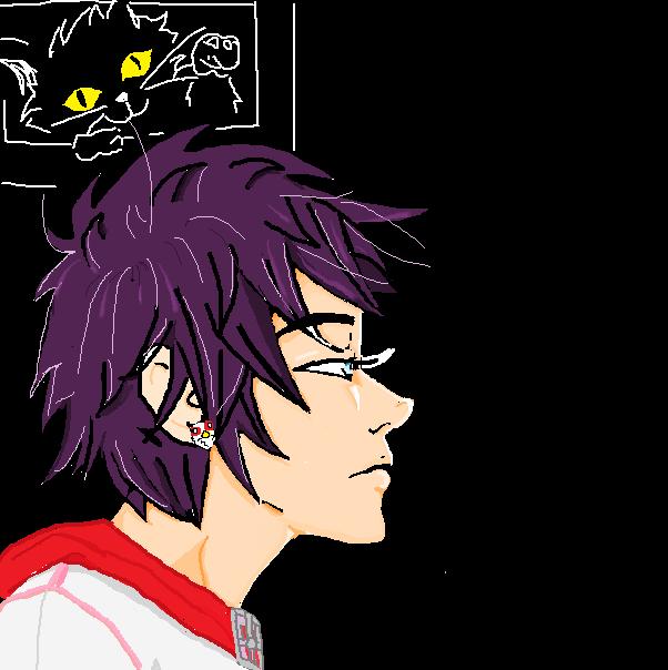 purplehair dude