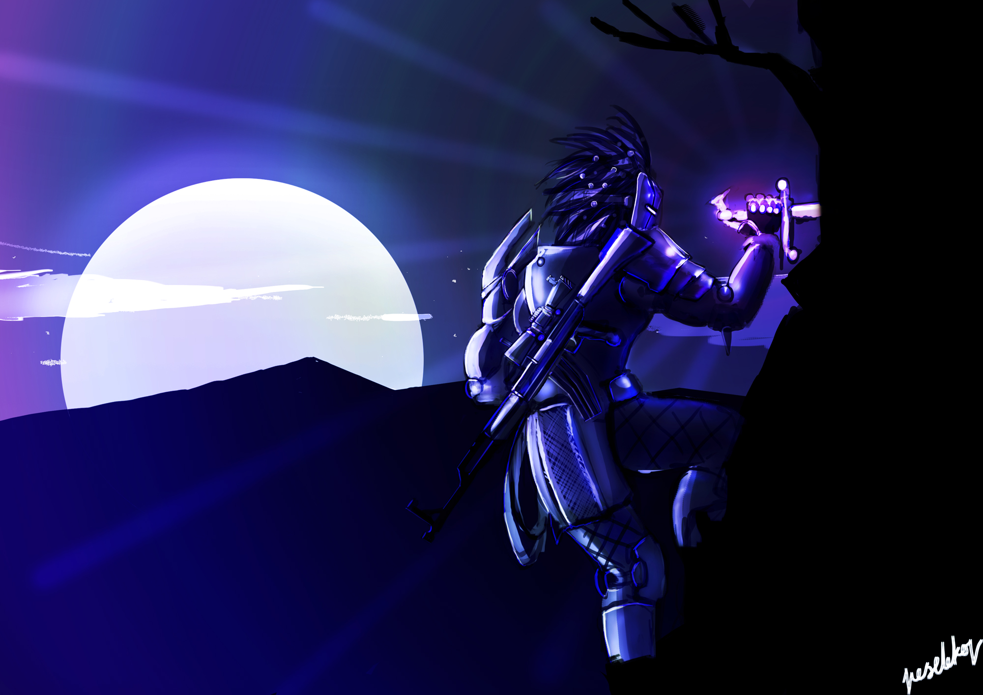 Lavender Lantern concept