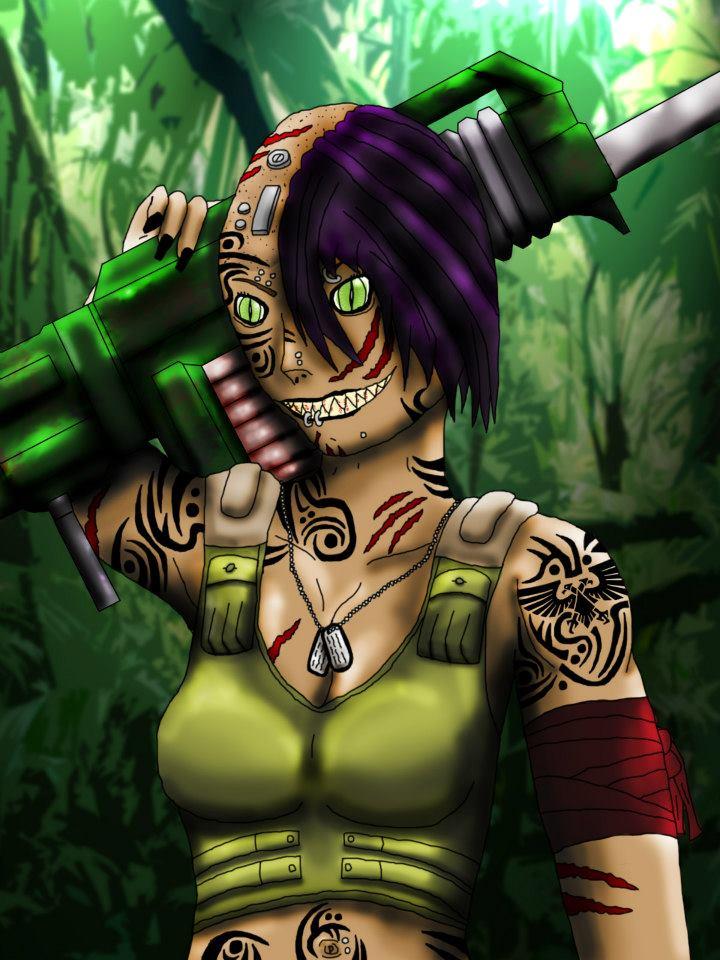Scythia Malice - 40K Character