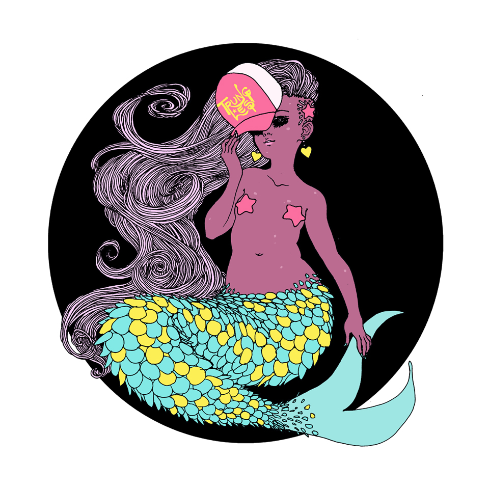 Trucker Cap Mermaid