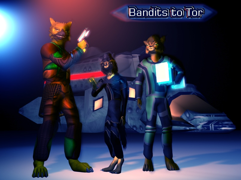 Bandits to Tor coverpage