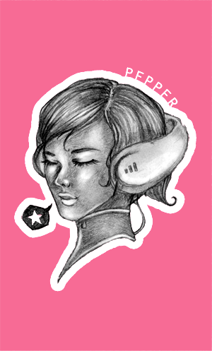 Pepper Fanart
