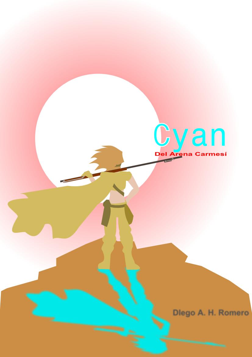 Cyan del Arena Carmesí: cover1