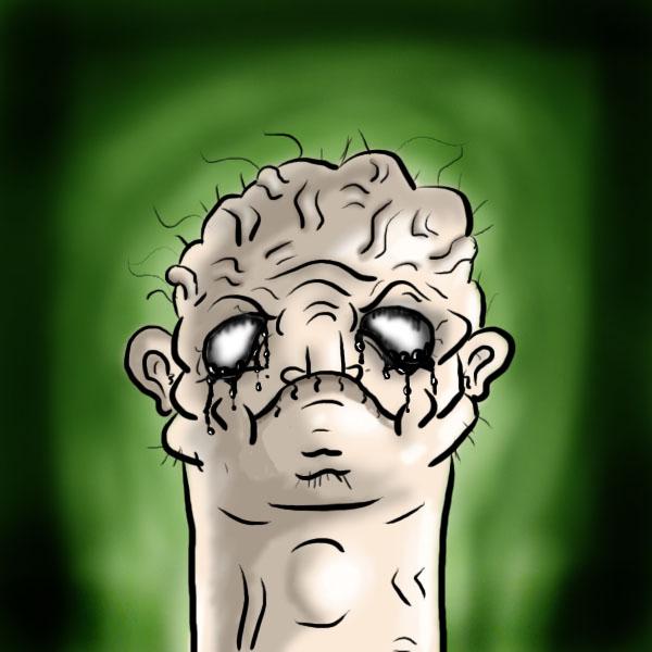 Mutant dick head