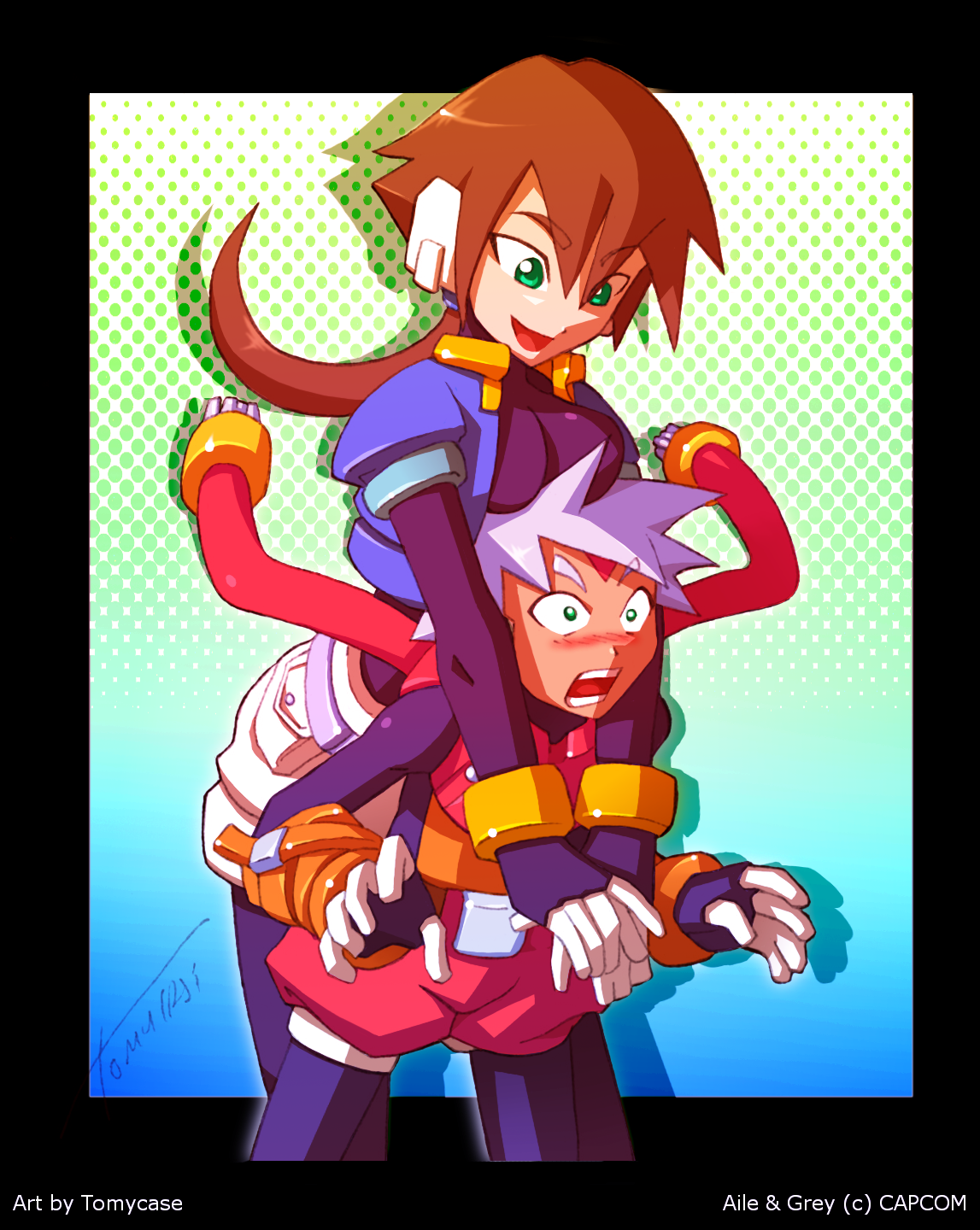 Megaman ZX Advent Love