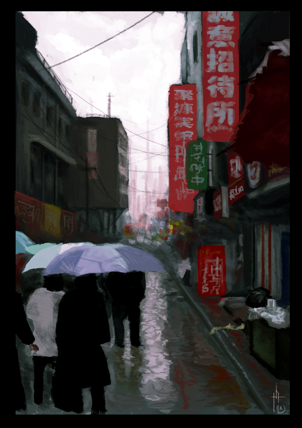 Rainy Alley