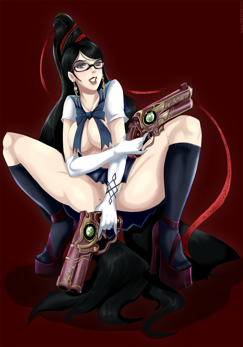 School Girl Bayonetta