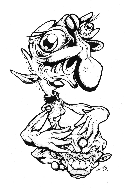 Monstruo and Cabeza