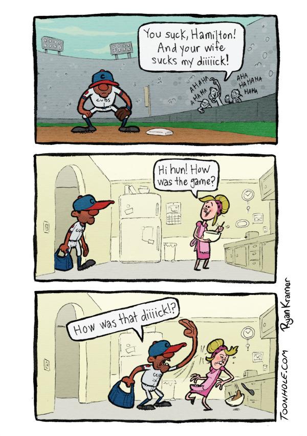Baseball Heckler.