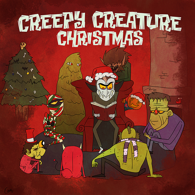 Creepy Creature Christmas