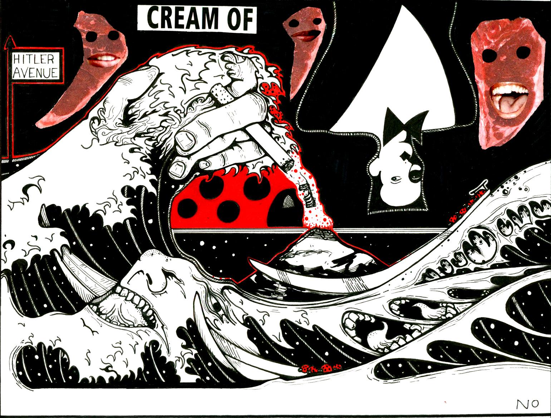 cream of tsunami
