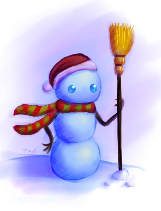 Snowy The Snowman