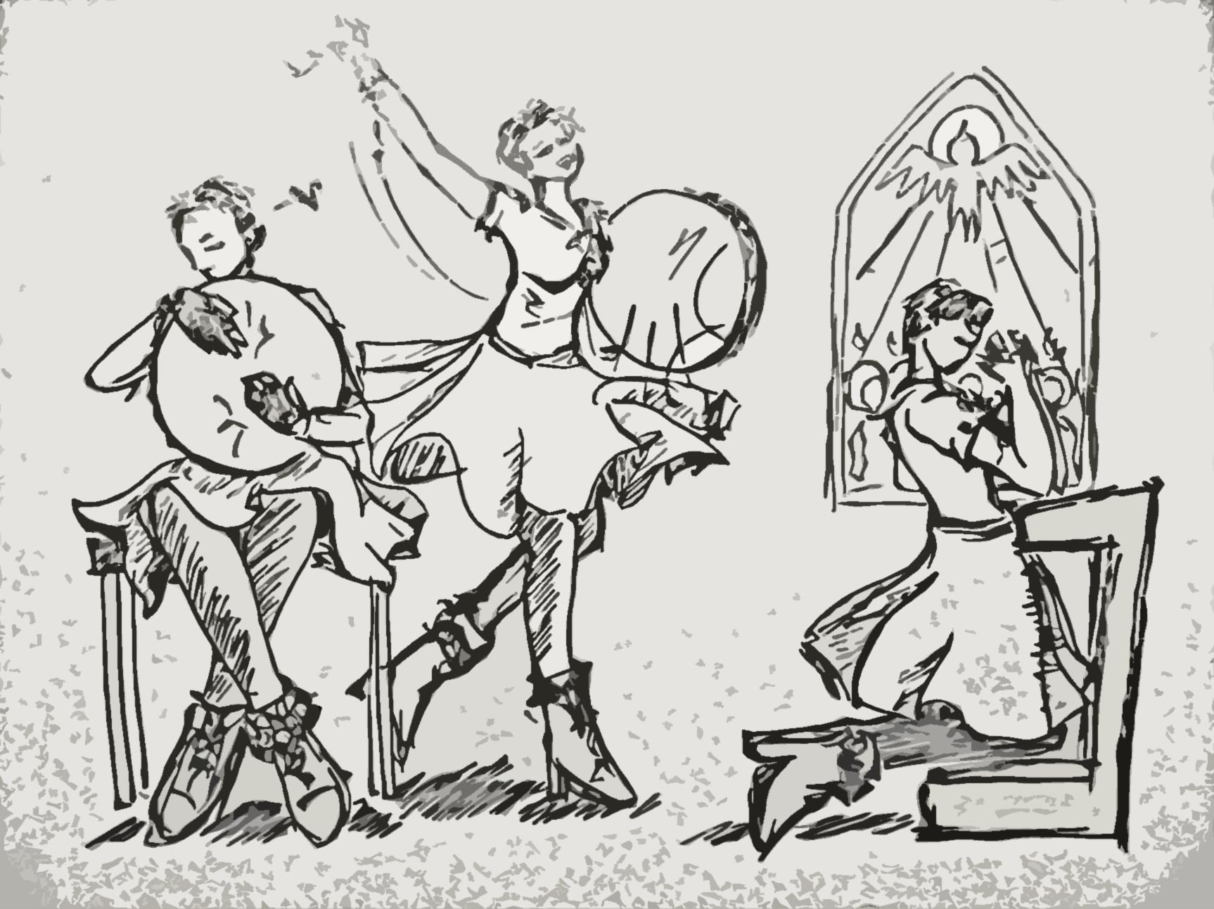 Drum, dance and prayers
