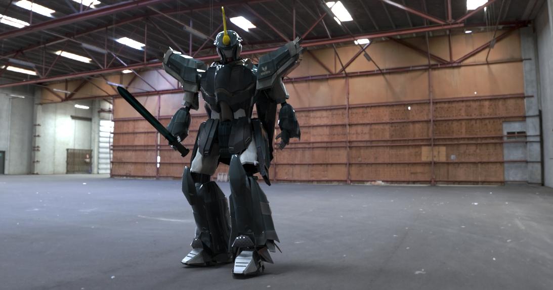 3d Gundam - Black Beetle