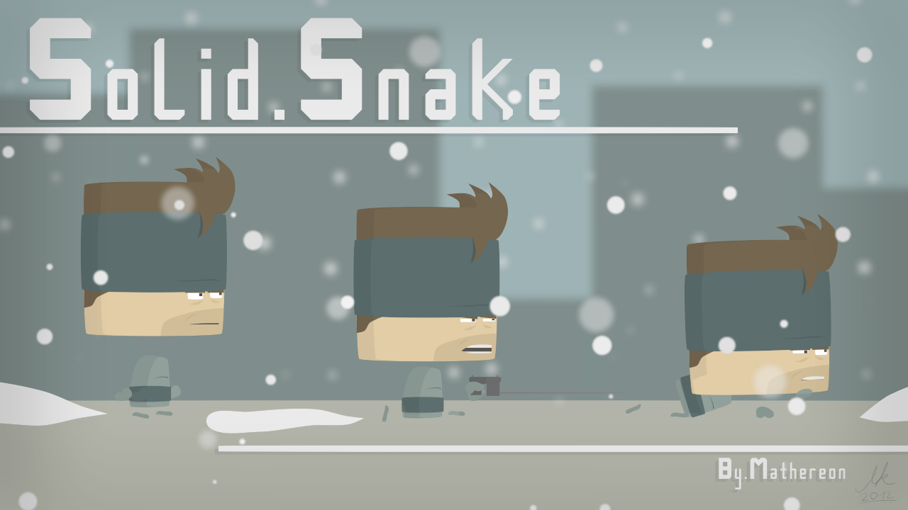 Solid Snake style test