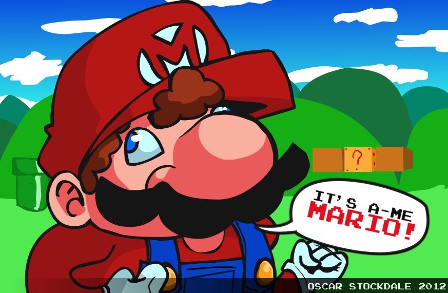 It's a-me Mario!