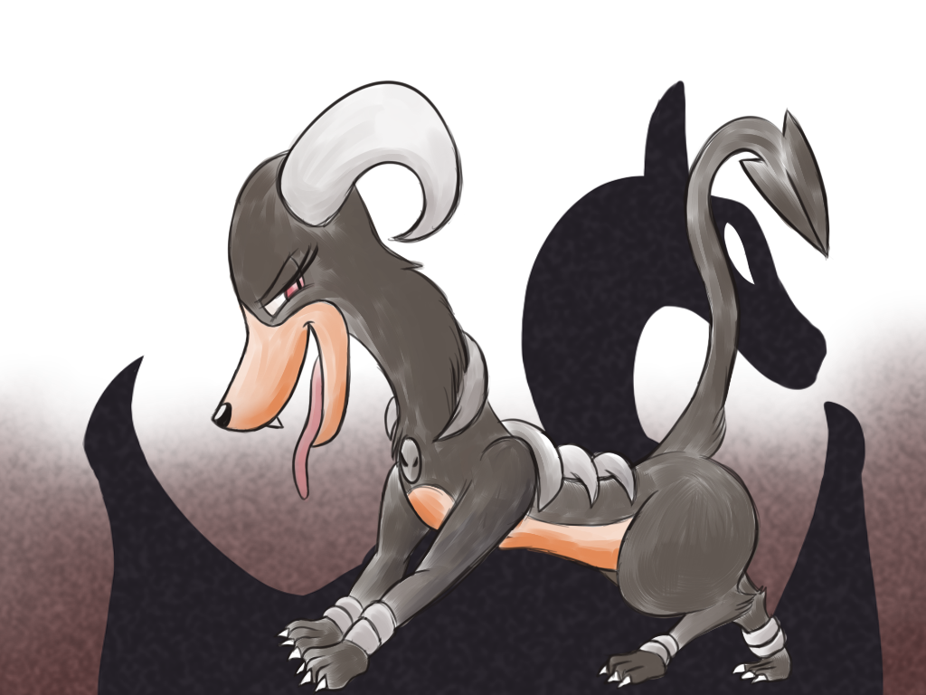 pokeddexed challenge: houndoom