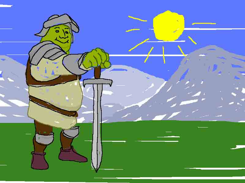 shreck the paladin
