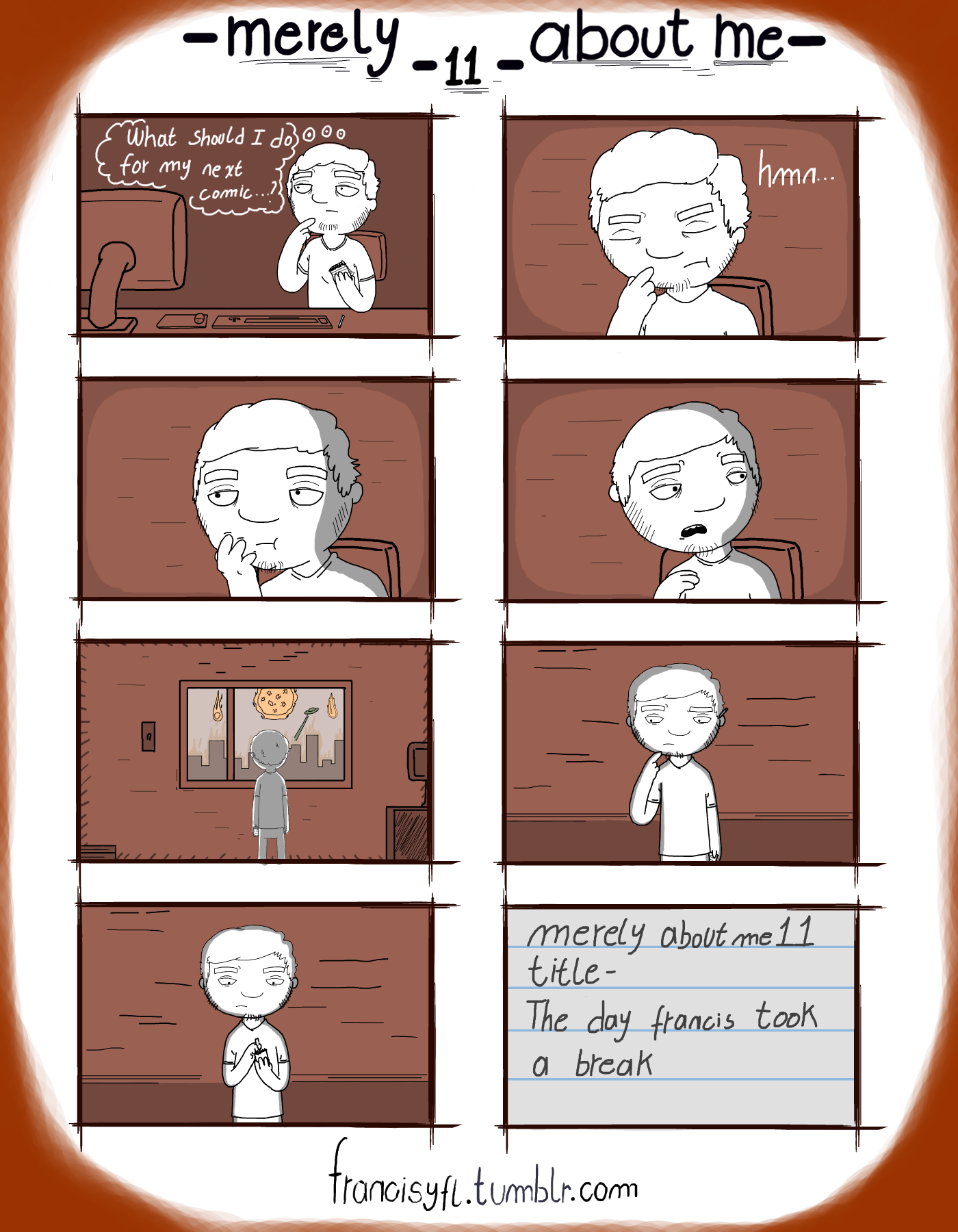 [Comic] Merely about me - 11