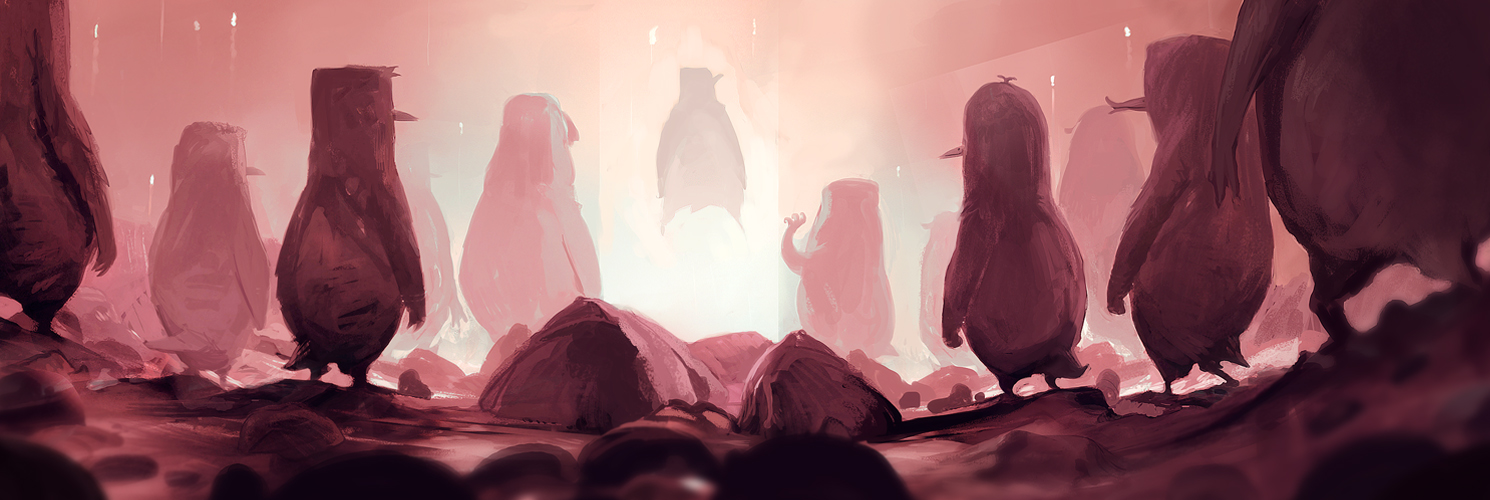 Ascension of the Penguins