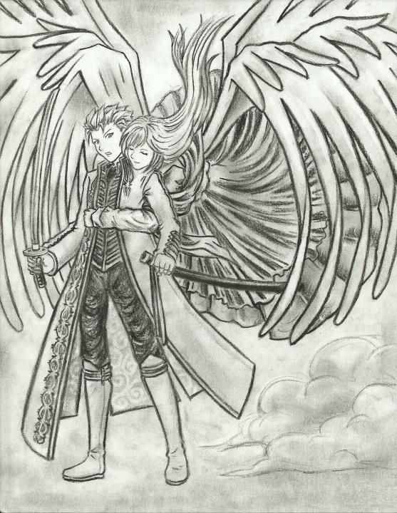Devil May Cry - VergilxEva