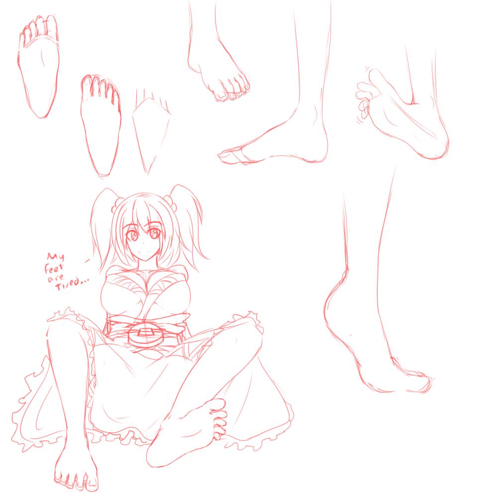 Foot practice