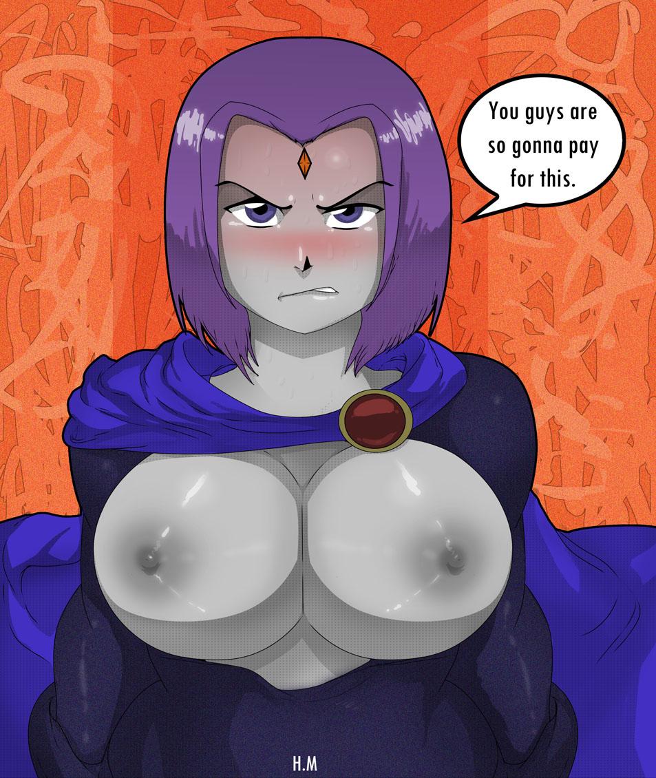 Raven lost a bet v2