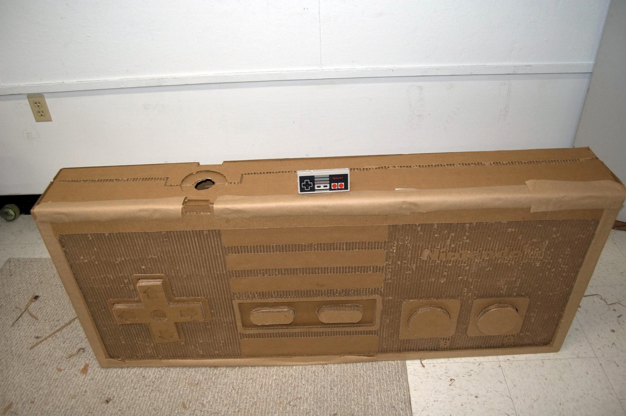 Cardboard NES Controller