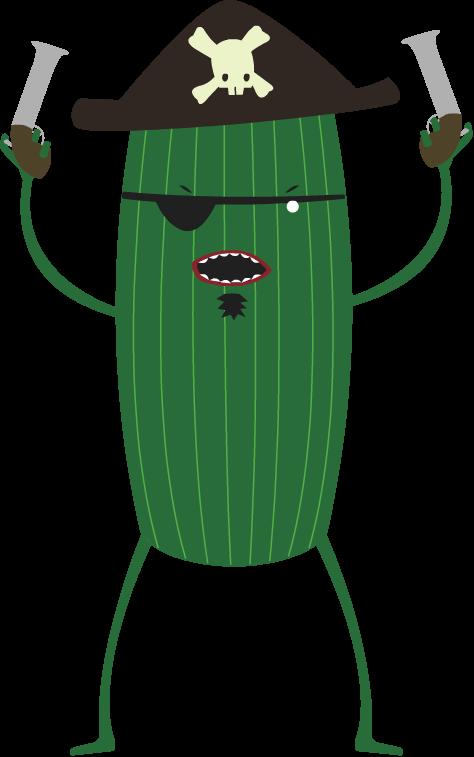 Pirate cucumber