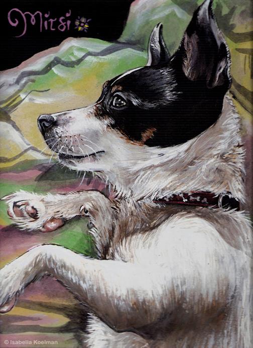 Mitsje painting