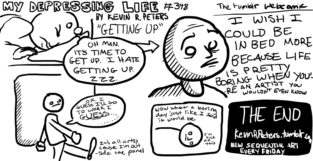my depressing life the comic