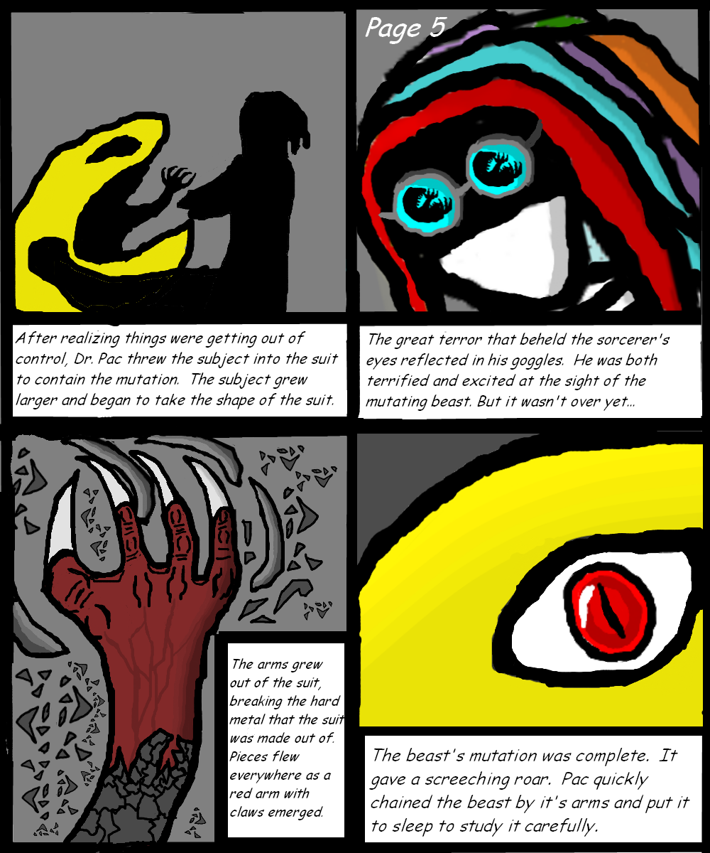 Untitled Series Page 5 (WIP)