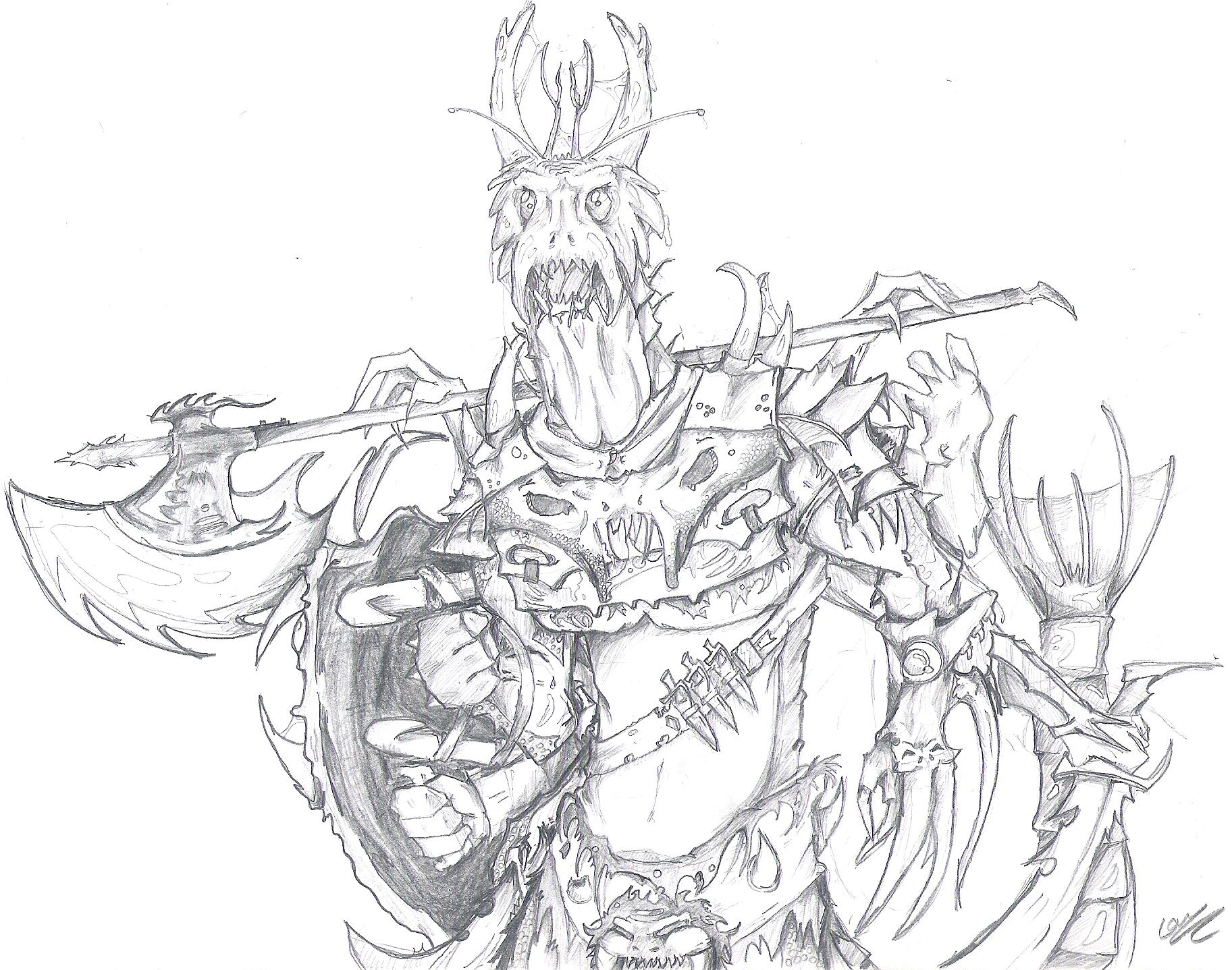 An Humanoid Based on Chaurus