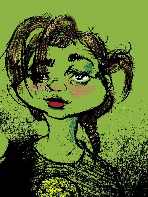 Grumpy Green Shroom
