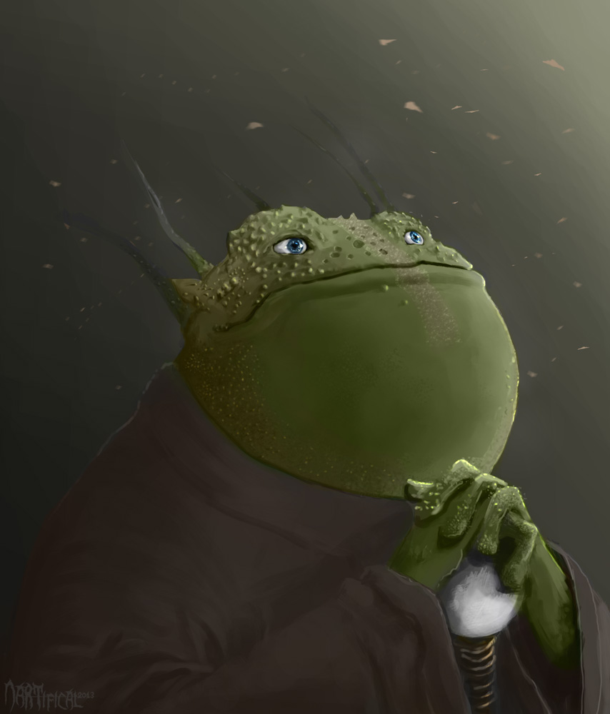 Frog Monk