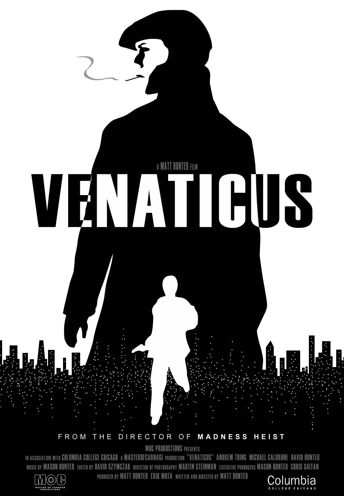 Venaticus Noir Poster