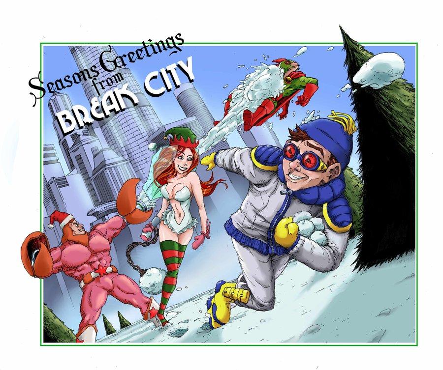 A Break City Christmas