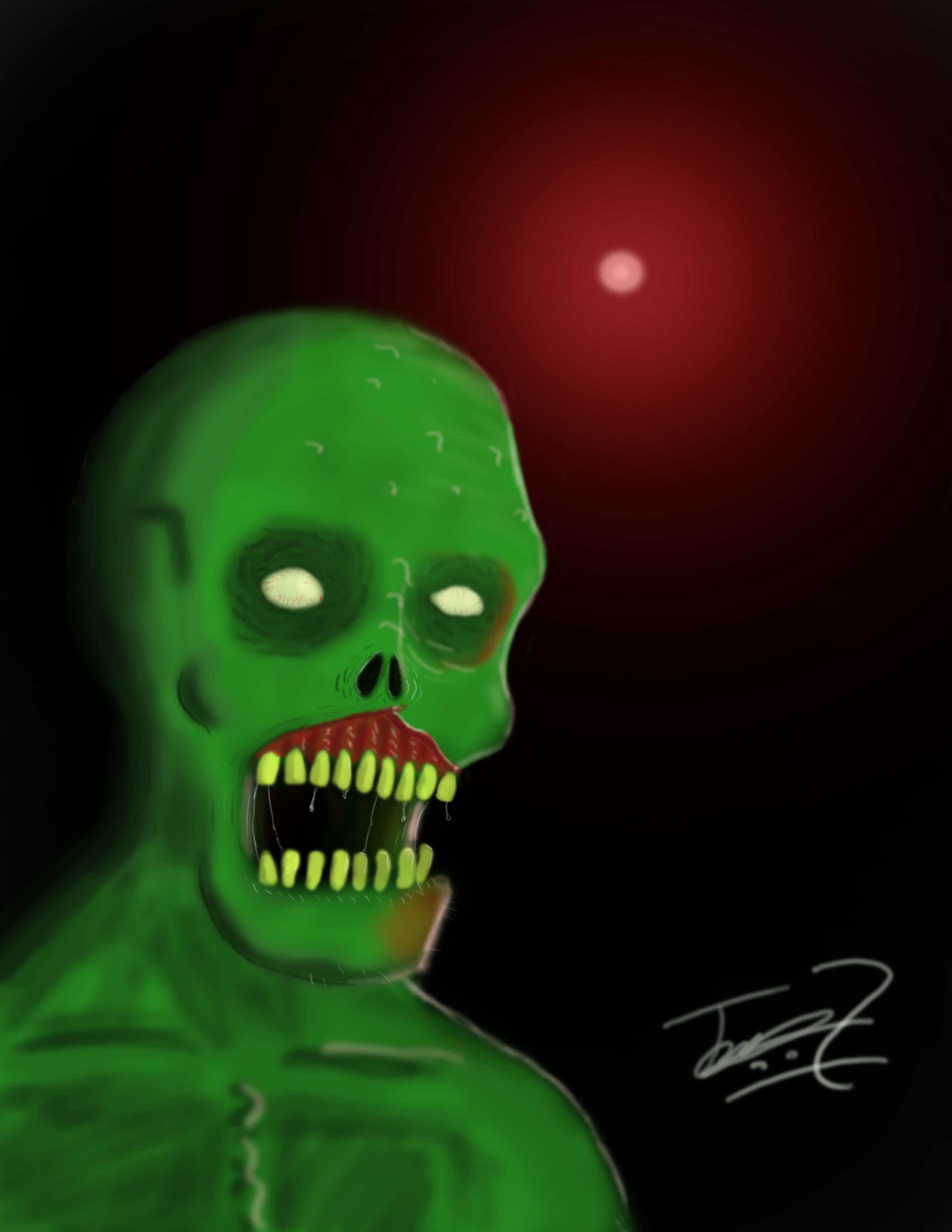 Green Zombie!