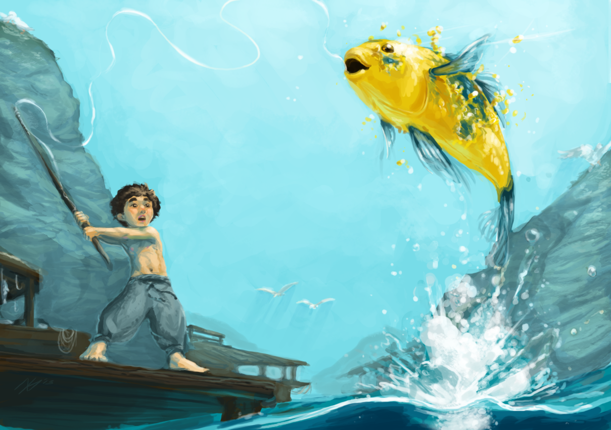 Catching the Luckfish