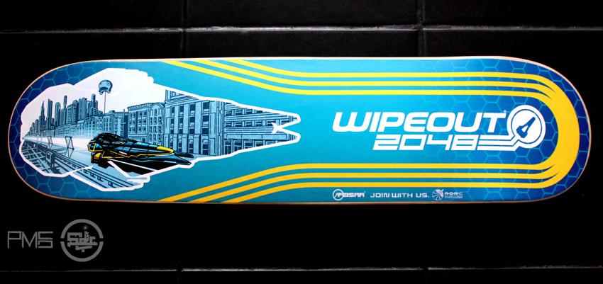 Wipeout 2048 Skateboard
