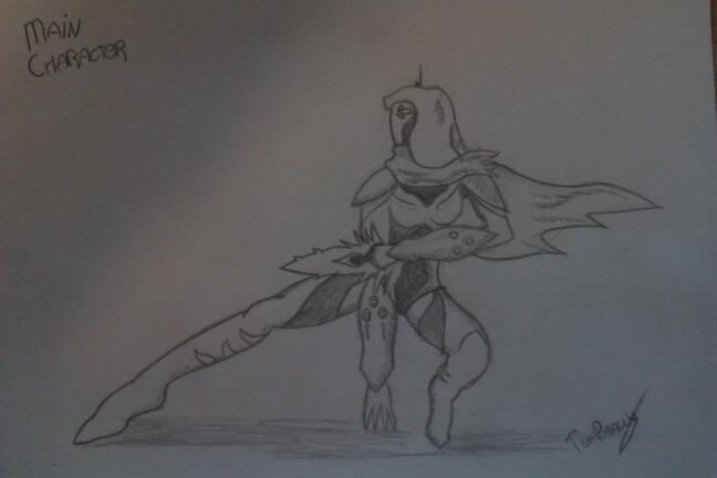 Sci fi character - Concept Art