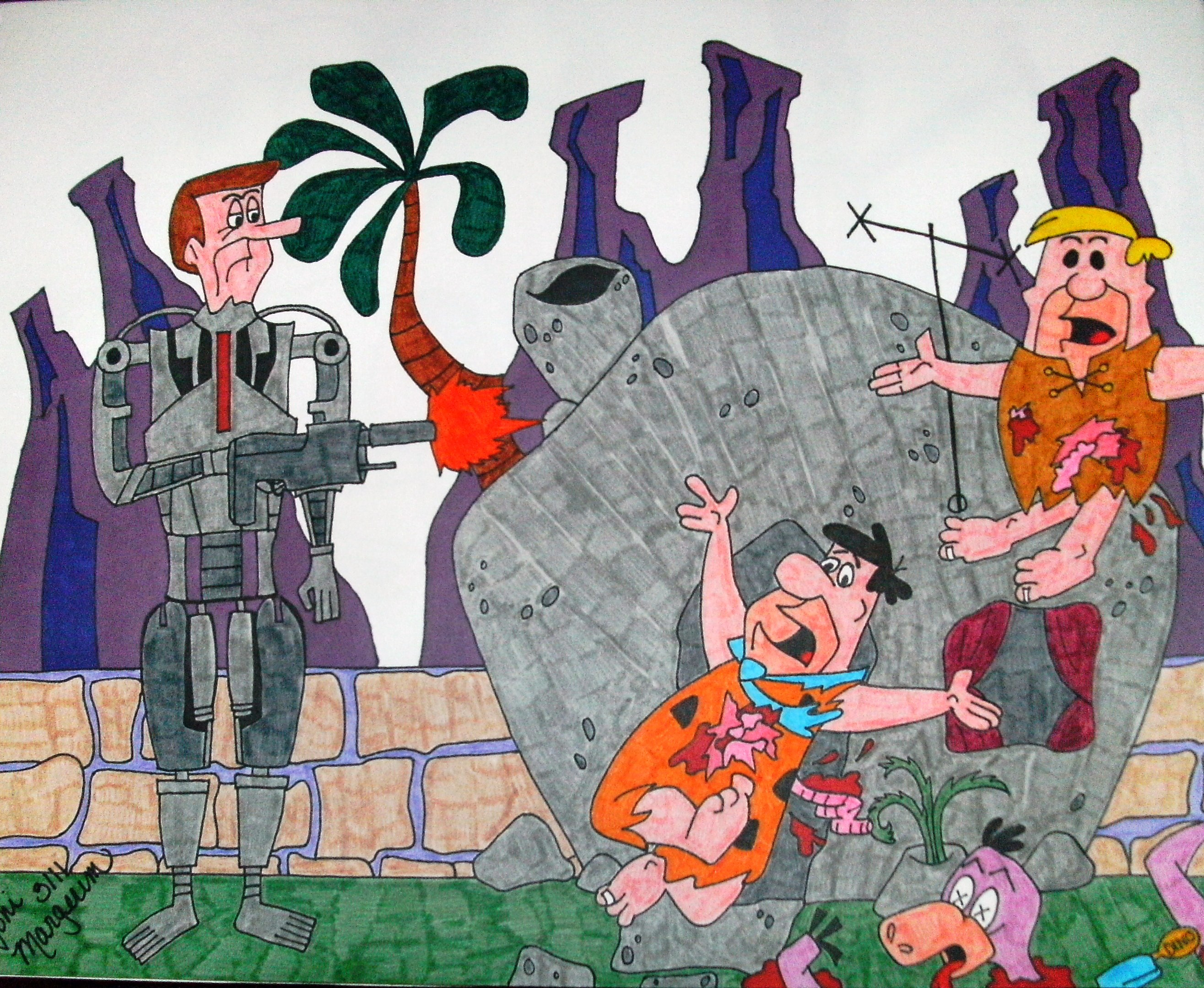 Flintstones Vs Jetsons