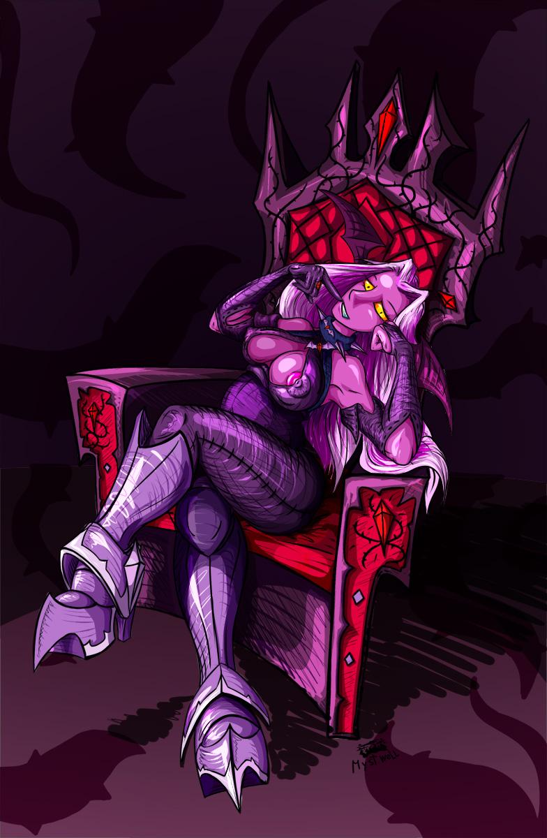 Darksy on the throne